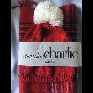 Charming Charlie Hat & Scarf Set
